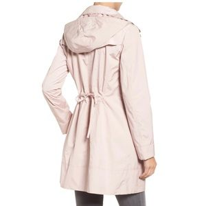 Cole Haan Signature Back Bow Packable Raincoat